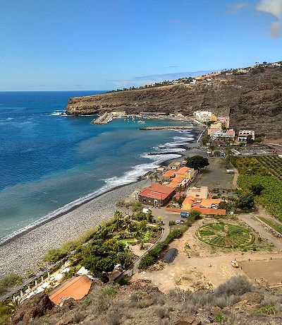 Playa de Santiago auf La Gomera