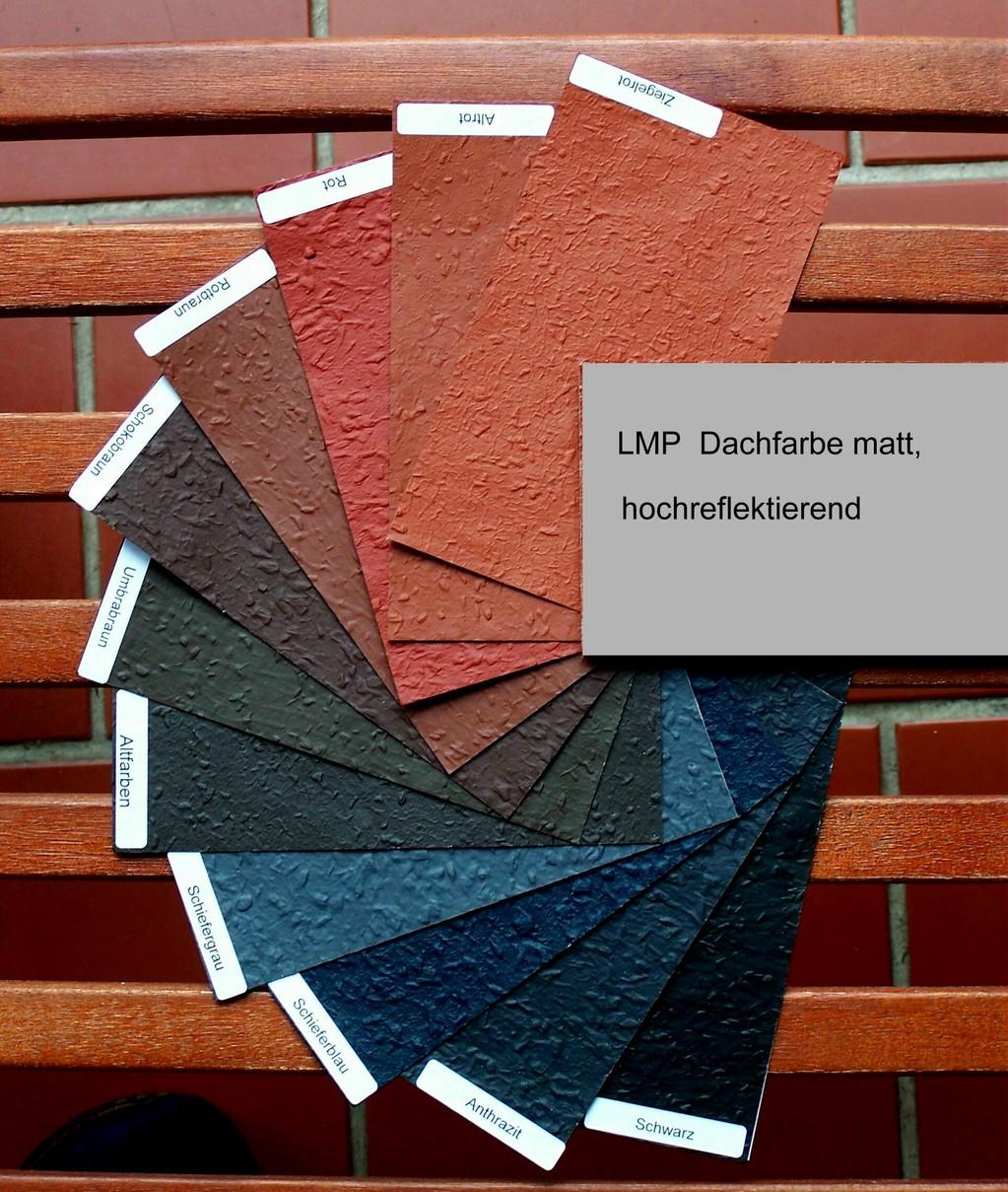 lmp dachfarben hochreflektierend durch mikrohohlraum. Black Bedroom Furniture Sets. Home Design Ideas