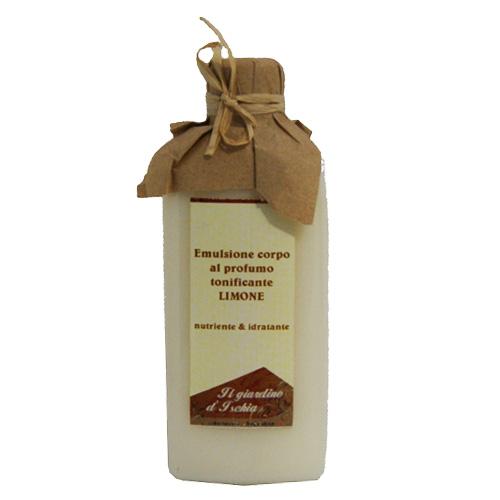 crema corpo idratante bio profumaa al limone Il giardino d'Ischia