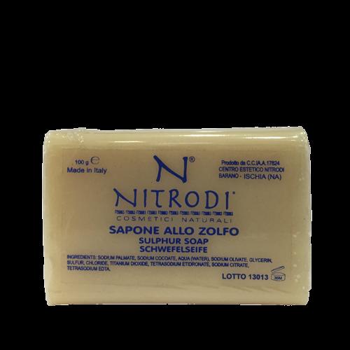 sapone zolfo Nitrodi cosmetici naturali