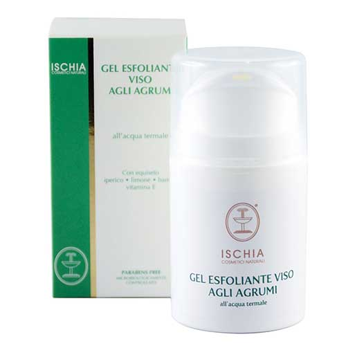 gel esfoliante viso Ischia cosmetici naturali