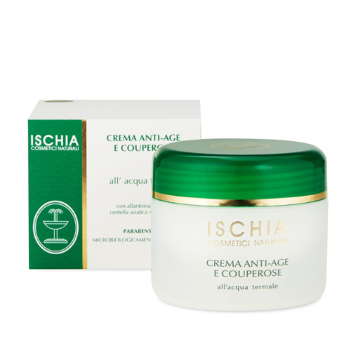 crema viso antiage e couperose ischia cosmetici termali
