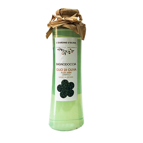 bagnodoccia biologico olio di oliva Il giardino d'Ischia