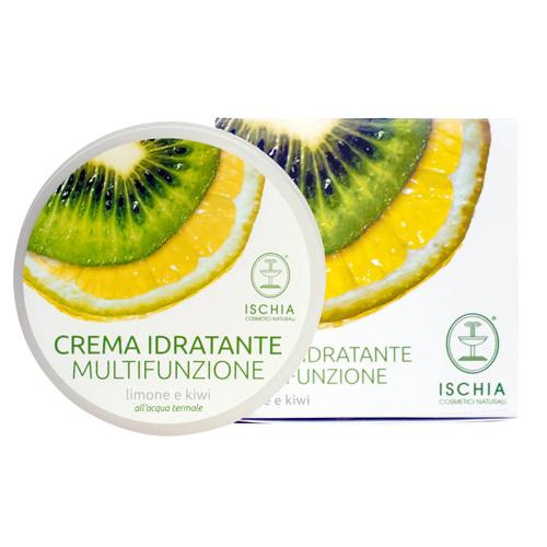 crema viso limone e kiwi multifunzione Ischia cosmetici naturali