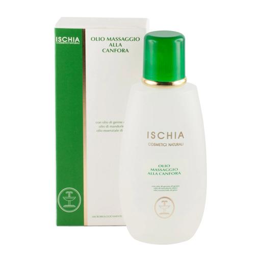 olio massaggio canfora Ischia cosmetici naturali