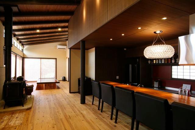 神奈川県で薪ストーブのある家造り