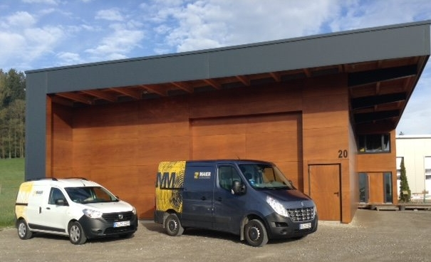 Unsere neue Betriebsstätte Am Heuberg