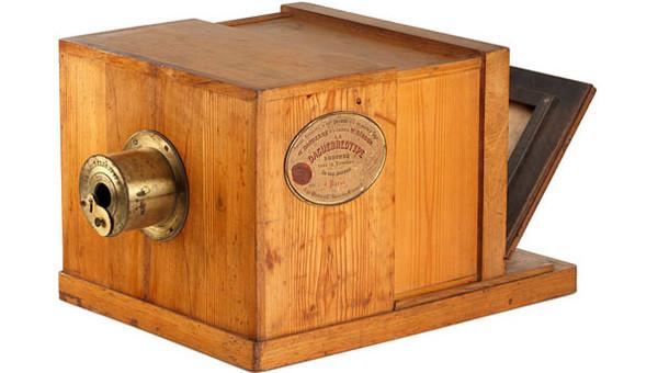 Daguerrotipo de Daguerre. Se aprecian las mejoras con respecto al invento de Niépce.
