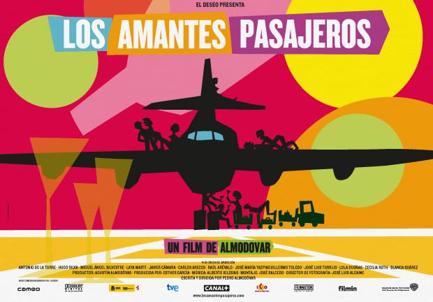 Imagen de la película 'Los amantes pasajeros' de Pedro Almodóvar - Estudio Mariscal.