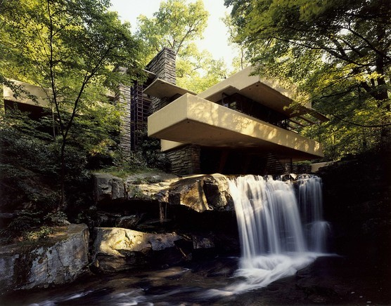 Casa de la Cascada - Frank Lloyd Wright.