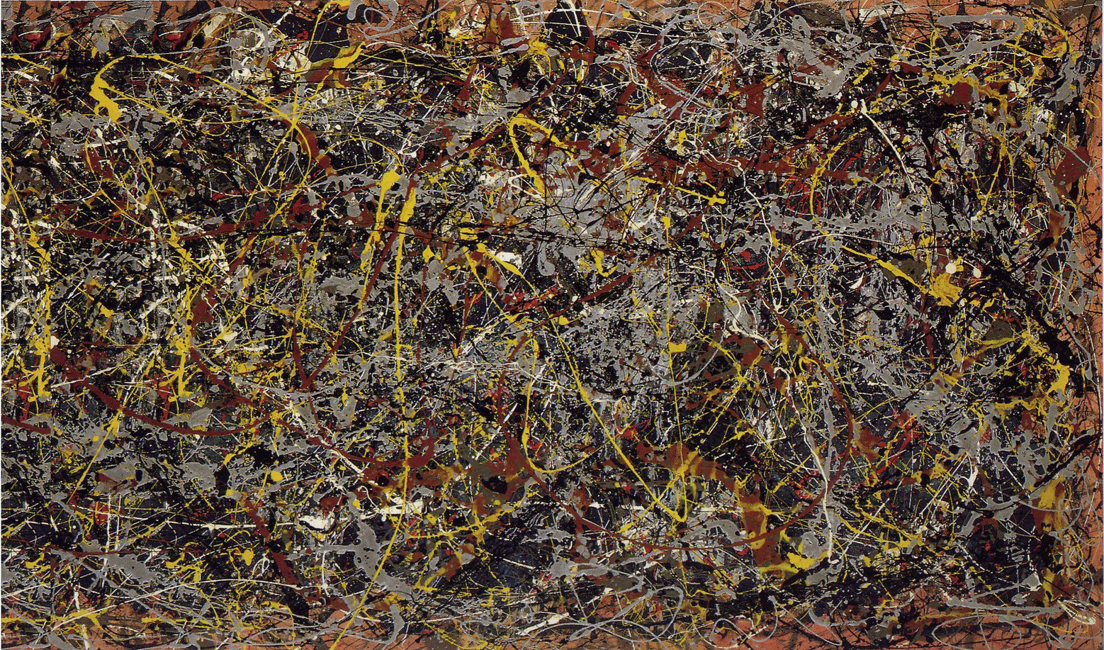"""4) """"Número 5"""", de Jackson Pullock. 105 millones de euros (noviembre de 2006)"""