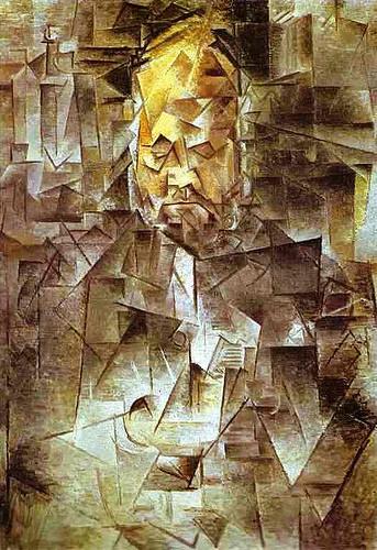 'El retrato de Vollard' - Pablo Picasso (Etapa cubista).