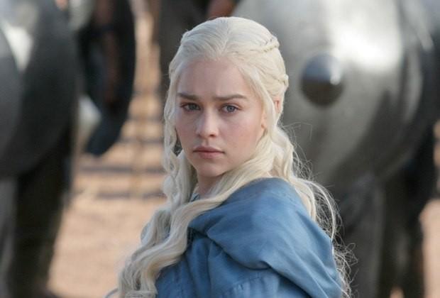 Emilia Clarke y Khaleesi