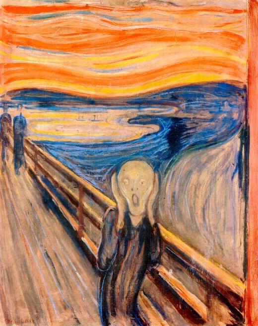 'El Grito' de Edvard Munch.