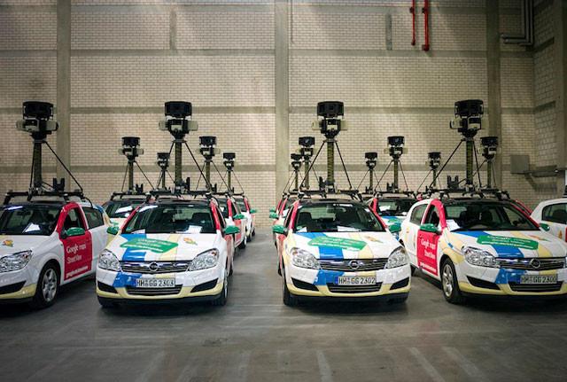 Vehículos Google Street View.