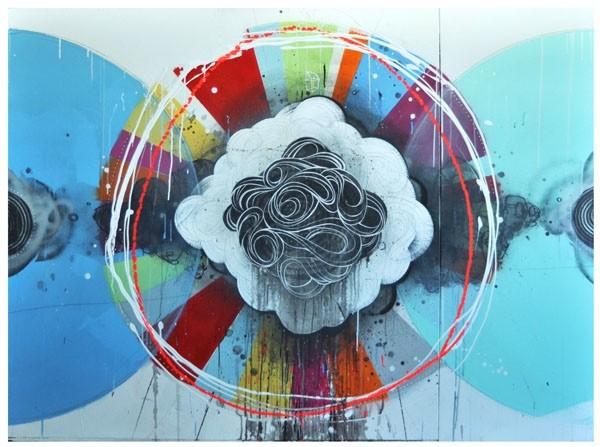 Pintura realizada por Erik Otto.