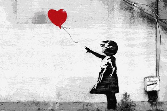 'Ballon Girl' - Banksy.