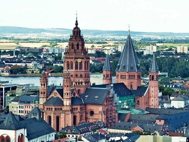 Catedral de Maguncia en Alemania. Fuente: desconocida.