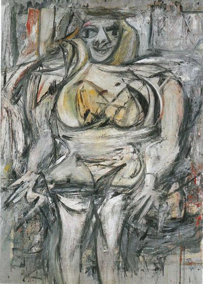 "5) ""Mujer III"", de Willem Kooning. 102 millones de euros (noviembre de 2006)"