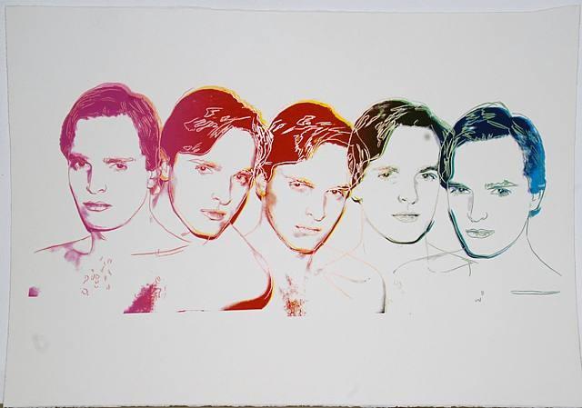 Portada de Miguel Bosé - Andy Warhol