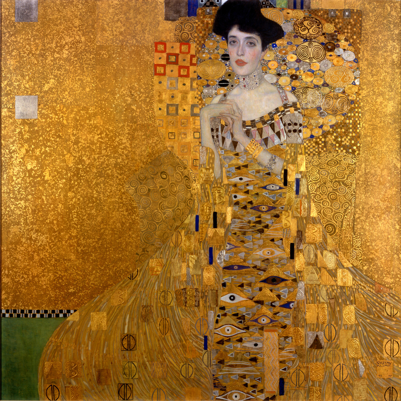 "6) ""Adele Bloch-Bauer"", de Gustav Klimt. 101 millones de euros (junio de 2006)"