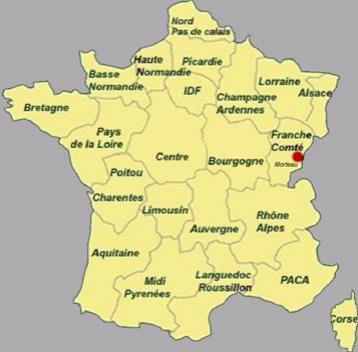 notre région   la Franche-Comté