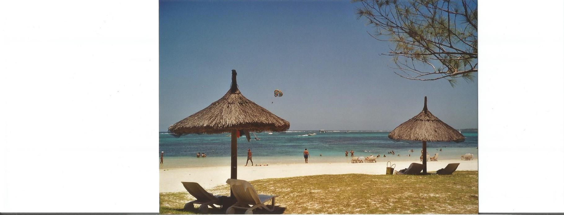 plage de ile Maurice