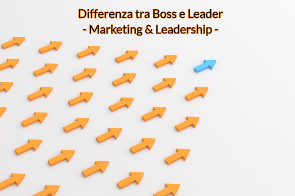 10 differenze tra leader e boss