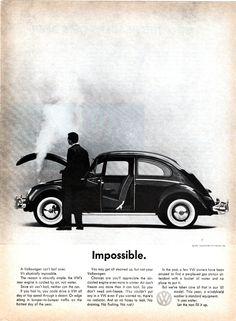 La pubblicità creativa Bill Bernbach: la campagna Maggiolino