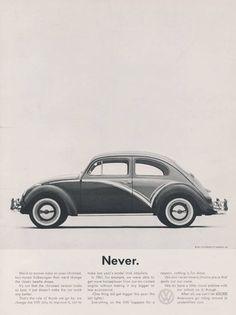 La pubblicità creativa Bill Bernbach: la campagna VW