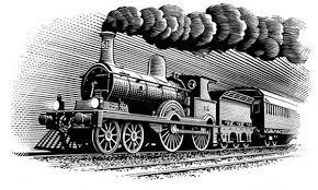 storia del marketing treno simbolo della rivoluzione industriale