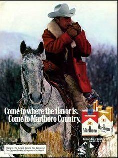 Leo Burnett - pubblicità uomo Marlboro