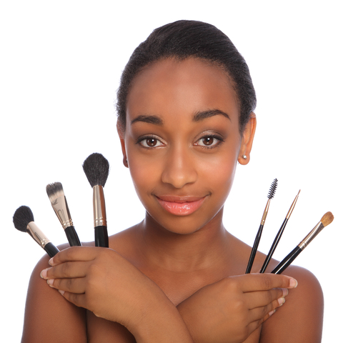 Make-up for different skin tones
