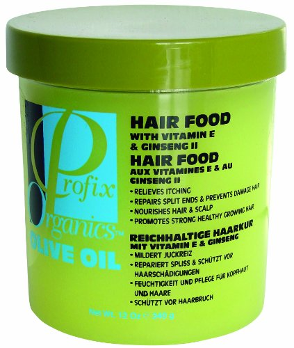 Profix Organic Olive Oil Hair Food 12oz - Black Beauty Store