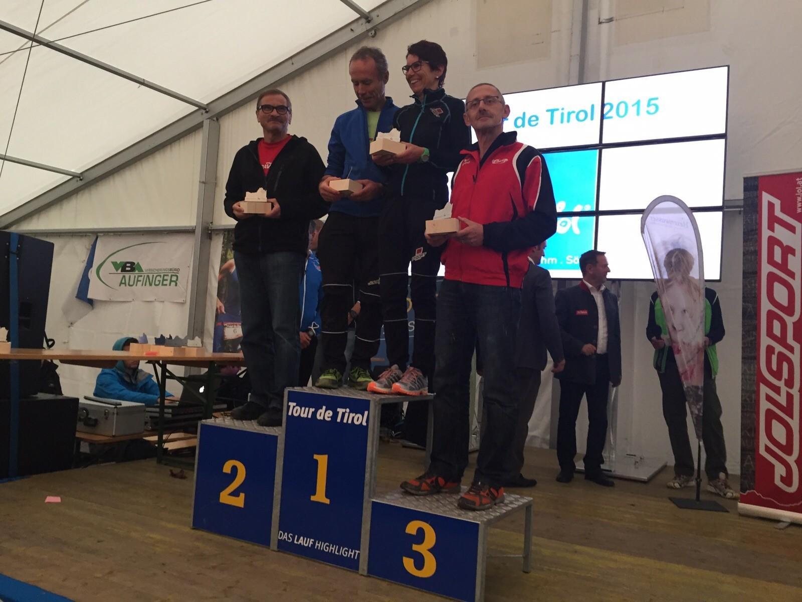 Sa: Siegerehrung Kaisermarathon