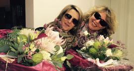 Christine Staub und Elsbeth Winkler