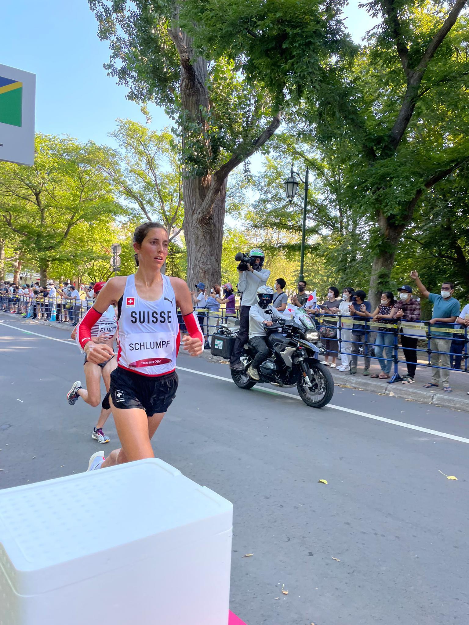 Urs würdigt die Olympia Teilnahme von Fabienne Schlumpf in Tokiyo