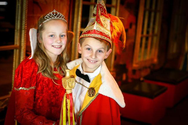 Prinz Lasse I. (Aupers) und Prinzessin Lilli I. (Krechting)