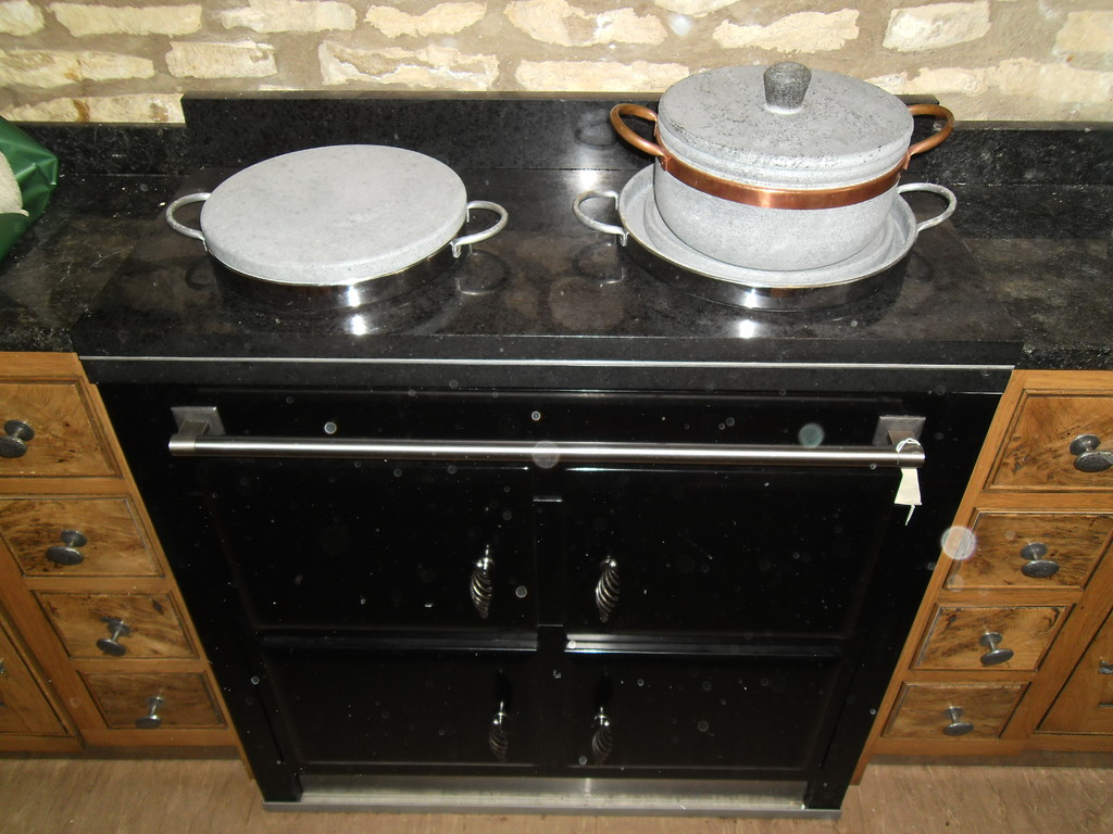 Place a working hob over it and your cooking on gas