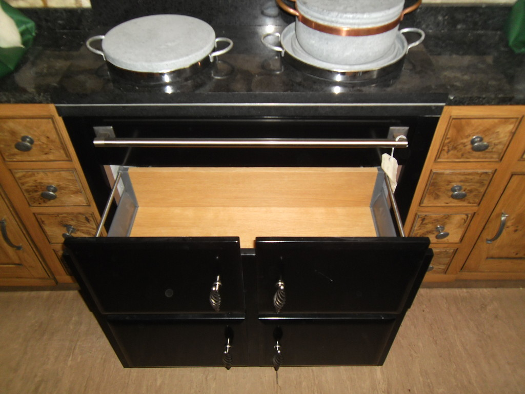 touch to open drawer option