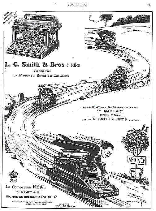 L.C. Smith & Bross à bille
