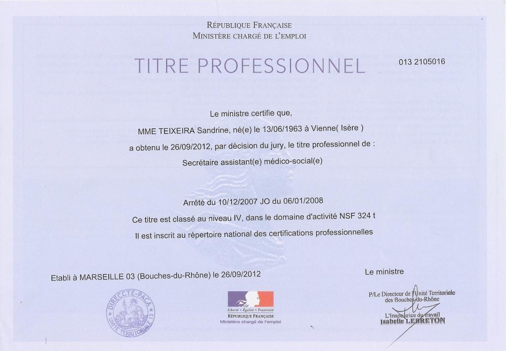 mes certificats de comp u00e9tences