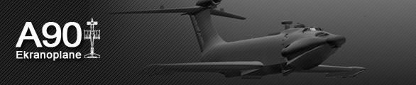 A90 Ekranoplane экраноплан орленок 3D model