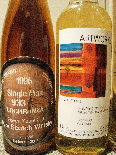 Bottlings from Heilmann and Art of Whisky