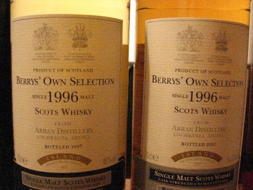 2 Berry's Own Selection Bottlings Berry Bros.