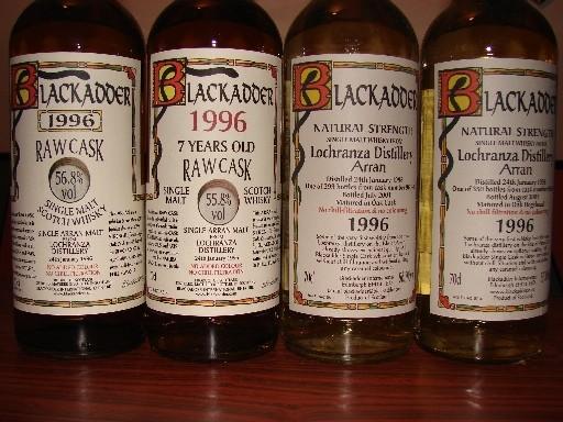 Blackadder Bottlings