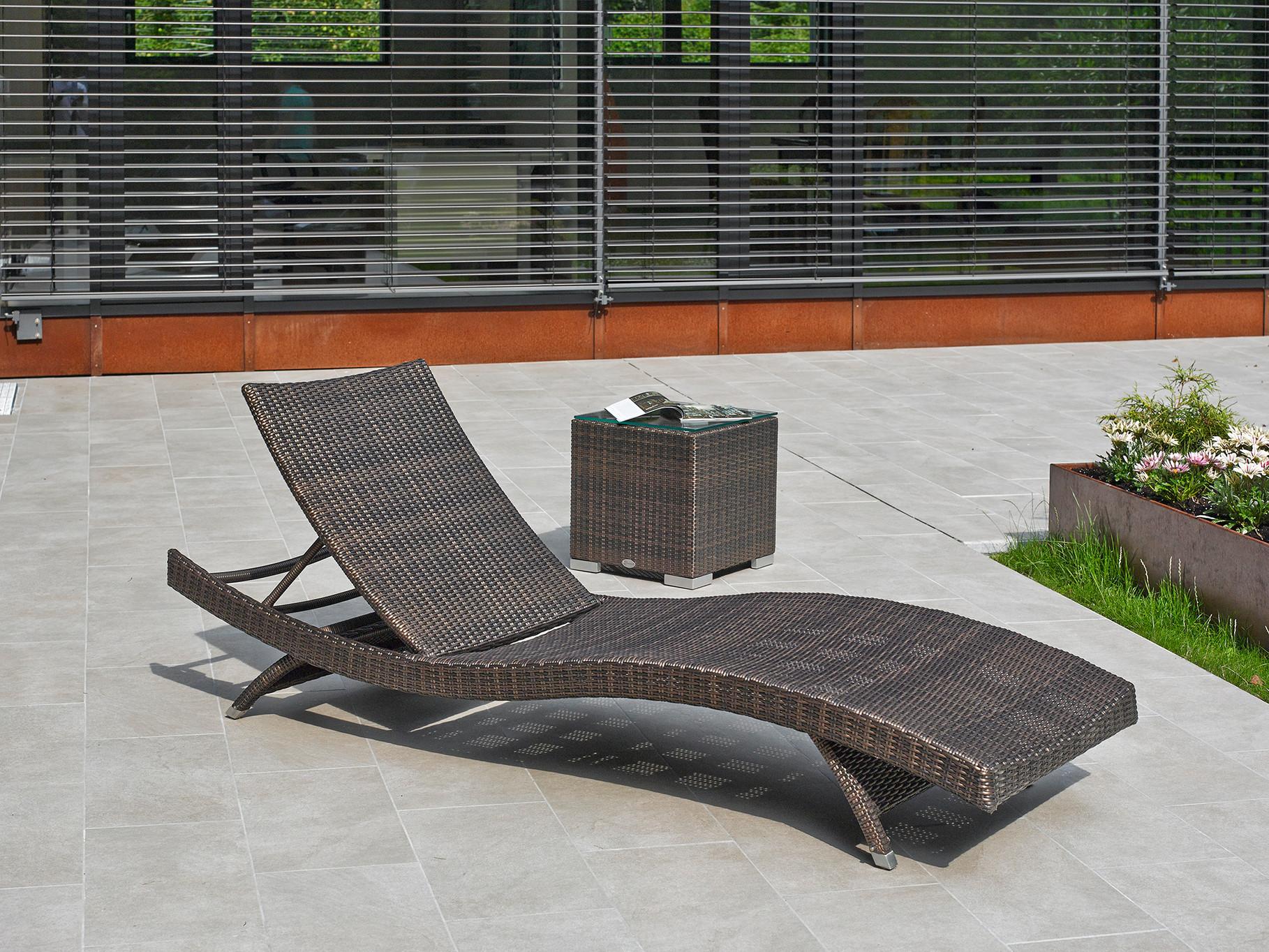 Gartenliegen - Hochwertige Gartenmöbel | Rattan | Teakholz ...