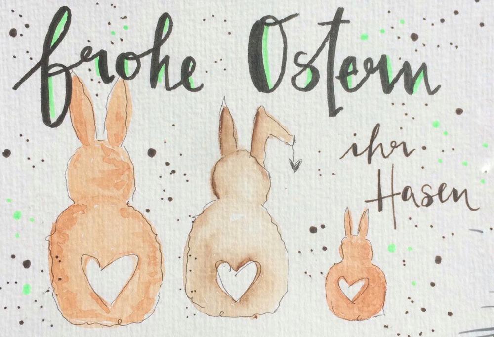 KoJe Art wünscht ebenfalls Frohe Ostern. - Kontakt: jesseca.koss@gmail.com