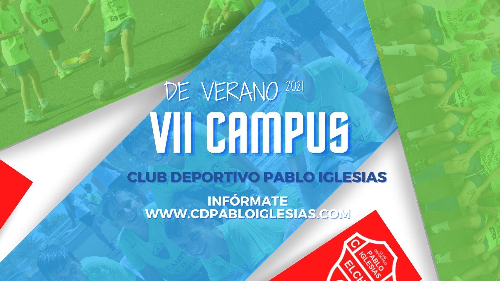 Se abre el plazo de inscripción para el Campus de Verano C.D. Pablo Iglesias 2021
