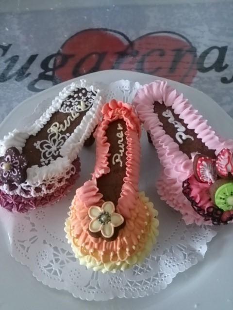 こんなカップケーキ作ってみたいね。